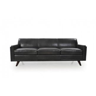 Sofá de cuero moderno de cuero genuino Ari