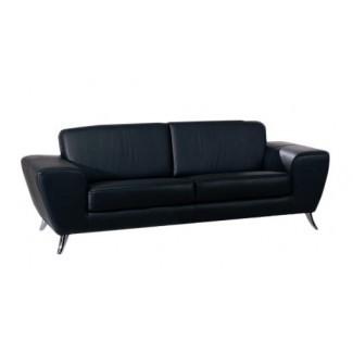 Sofá de cuero de Alonso