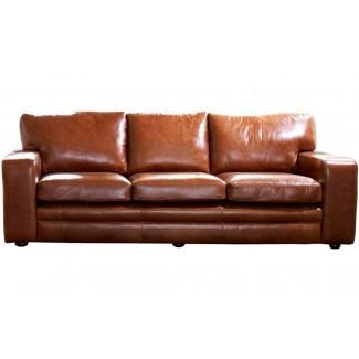 Top 10 de sofás de cuero de grano completo