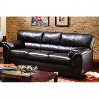 Muebles: Elegante diseño de muebles de sala con acogedor ...