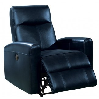 Sillón reclinable eléctrico de cuero Baggett