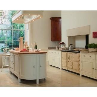 Blanco Independiente Cocinas • Cocinas independientes de roble