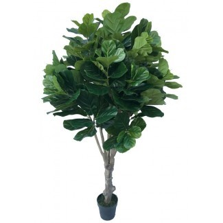 Real Touch Silk Fiddle Leaf Fig Árbol en maceta