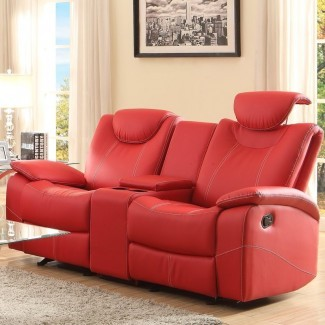 Loveseat reclinable Erik Double Glider