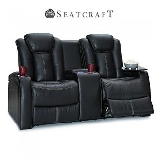 Asiento reclinable eléctrico Seatcraft Republic de cuero para asientos