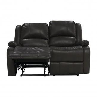 "Sofá reclinable Hugger de pared cero RV doble de 58 ""Sofá Loveseat RV"