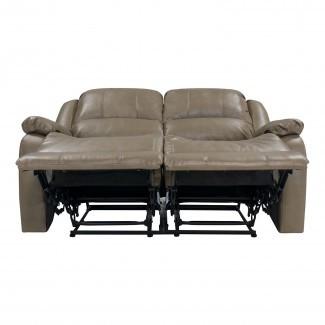 "Sofá reclinable Hugger de pared cero de RV doble de 58 ""Loveseat RV"