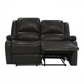 """Sofá reclinable de 58 """"doble RV Zero Wall Hugger reclinable Loveseat RV"""