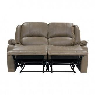 "Loveseat sofá reclinable Hugger de pared cero RV doble de 58 ""RV"