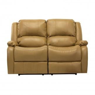 """Sofá sillón reclinable Hugger de pared cero RV doble de 58 """"Loveseat RV"""