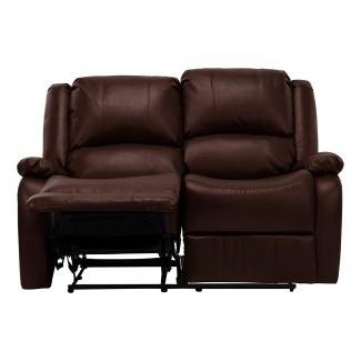 "Sofá reclinable Hugger reclinable de pared cero RV doble de 58"" Loveseat RV"