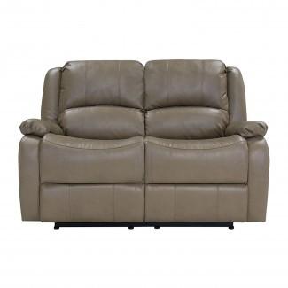 "Sofá reclinable Hugger de pared cero RV doble de 58 ""Loveseat RV"