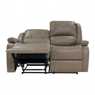 "Sofá reclinable Hugger de pared cero RV 58 ""doble de 58"" Loveseat RV"