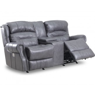 Lazy Boy Leather Loveseat. Muebles: Loveseat mecedora ...