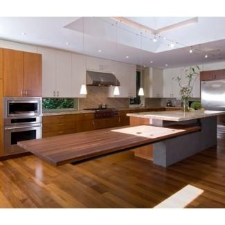isla de cocina flotante   Decoración del hogar