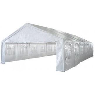 Gazebo de dosel para carpas de fiesta HEAVY DUTY de 20 x 40 con paredes laterales 011