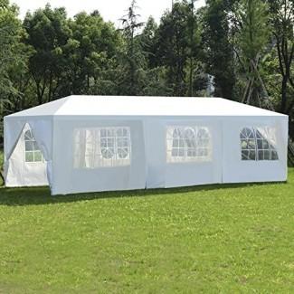 10'x30 'Carpa de boda de fiesta Canopy Outdoor Heavy Duty Gazebo Events