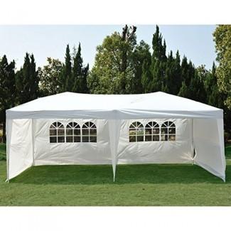 Tienda de campaña Clevr New Party Canopy Wedding Outdoor Carpa Gazebo Pavilion Event Event
