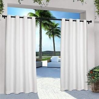 Exclusivas cortinas para el hogar de entrada / salida Panel sólido de GT
