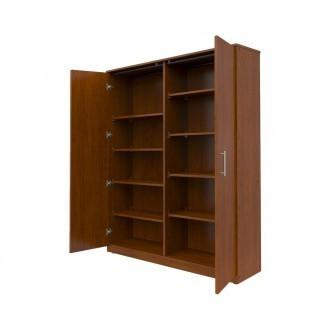Gabinete de almacenamiento Mobile CaseGoods de 2 puertas
