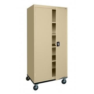 Transporte de gabinete de almacenamiento de 2 puertas