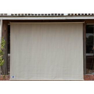 Exterior Oscurecimiento de habitación inalámbrico Roller Shad exterior e