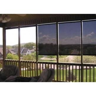 Persiana exterior exterior enrollable DALIX Roll-Up Sun Shade Patio exterior 72 x 72