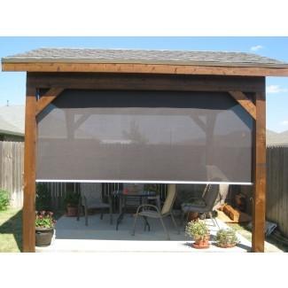 Cortinas enrollables para patio Tucson - Manténgase fresco sin bloquear ...