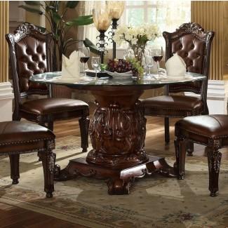 Mesa de comedor tradicional Welles