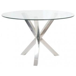 Mesa circular de vidrio | Home Design