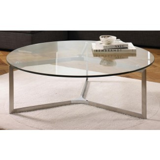 Circle Glass Coffee Table | Mesa de café Ideas de diseño