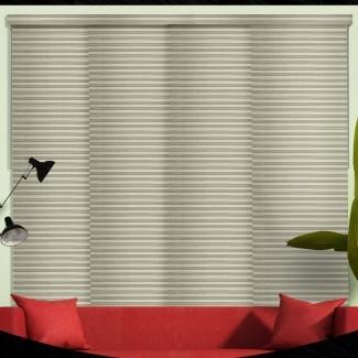 Persiana vertical de oscurecimiento de la sala de paneles deslizantes (juego de 4)