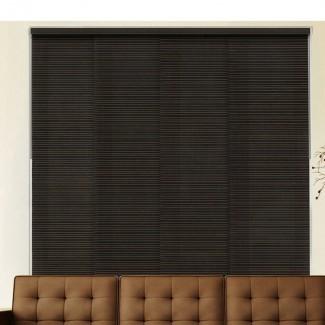 Persiana vertical de oscurecimiento de la sala del panel deslizante (juego de 4)