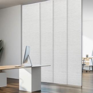 Oscurecimiento de la habitación ajustable de lujo gris Persiana vertical