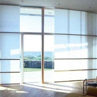 Persianas para puertas corredizas de vidrio - Alternativas a la vertical ...