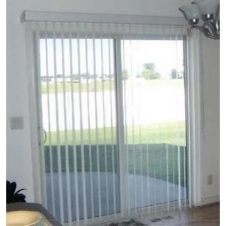 Tratamientos para ventanas para puertas corredizas de vidrio | Ventiladores interiores