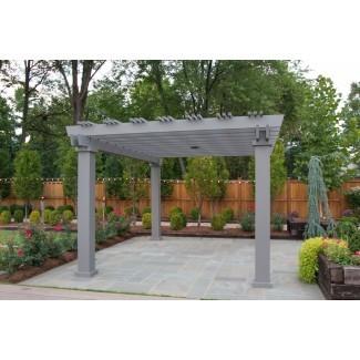 Terraza Pérgola de fibra de vidrio | Brown Jordan Structures