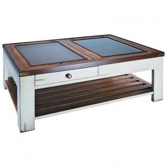 Auténtica galería de modelos Shadow Box Coffee Table-Ivory en ...