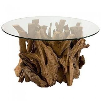 Mesa de centro de madera de deriva absoluta