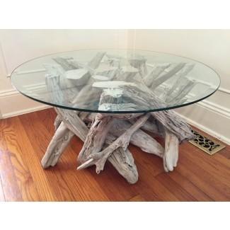 Driftwood Coffee Table. Estilo 3. Hecho a mano de Reclaimed
