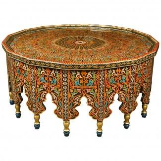 Fabulous Coffee Table marroquí en 1stdibs