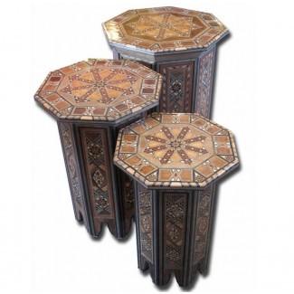 La elegancia de la mesa de centro marroquí Diseño de muebles