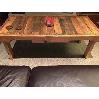 Reclaimed Wood Coffee Table Pallet Muebles para el hogar