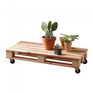 Timberliving - Jasper - Pallet Coffee Table - Madera de pino maciza - Muebles de interior