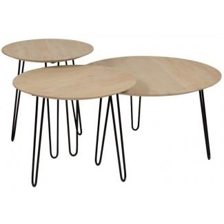 Juego de mesa de café Northwick de 3 piezas