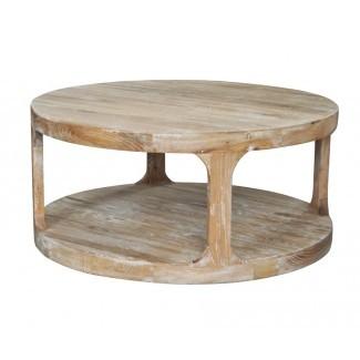 Mesa de centro Frans Roble blanco lavado   Provincial Furniture ...