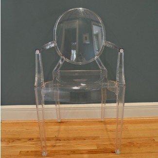 "Silla de acrílico Kartell ""Louis Ghost"" de Philippe Starck: EBTH"