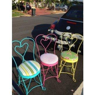 Artículos similares a las sillas Vintage Ice Cream Parlor en Etsy