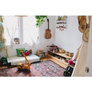 Habitaciones para niños geniales: Dormitorio Montessori californiano de Henry ...