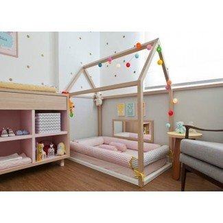 Cómo preparar una habitación para bebés Montessori